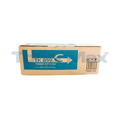 COPYSTAR CS-400CI CS-500CI TONER KIT CYAN
